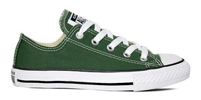 Tênis Converse All Star Verde Cano Baixo Ct04200029