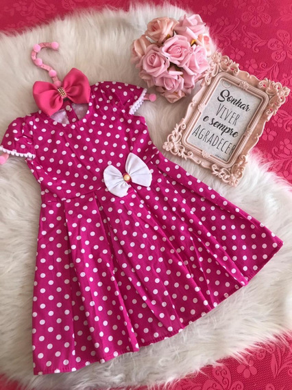 Vestidos Princesas 1 - 2 Anos