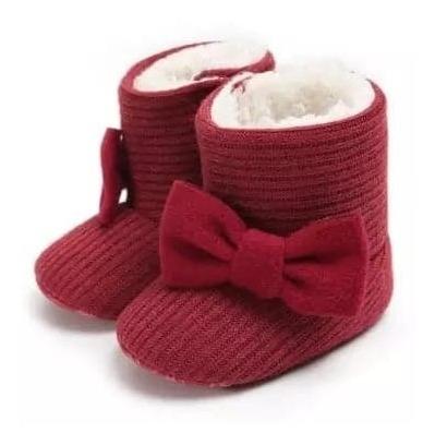 Botas Para Bebé Niña Botitas Suela Blanda Para Bebé