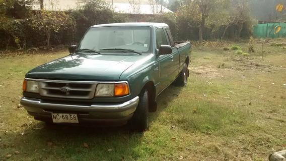 Camioneta Ford Ranger Xlt Cabina Y Media Año 95
