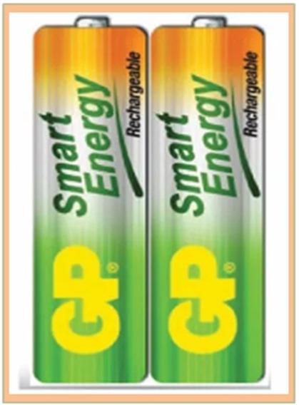 Baterias Recargables Gp Aaa 400 Mah Pack 2 (el Par)