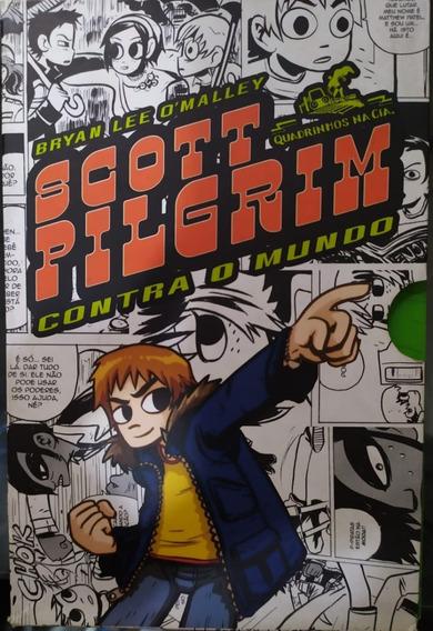 Scott Pilgrim: Contra O Mundo - Box 3 Volumes - Ótimo Estado