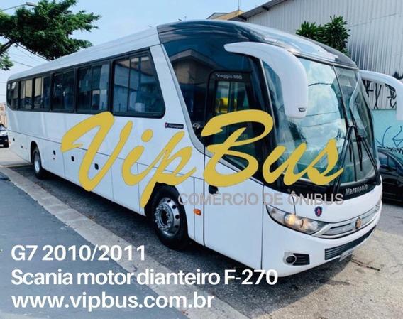 G7 Scania 2010/2011 Motor Dianteiro Financia 100% Vipbus