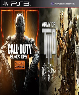 Black Ops 3 & Army Of Two The Devils Digital Latino Ps3