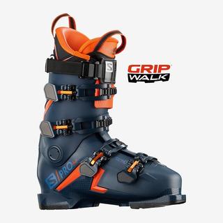 Salomon S/pro 1947 Ski Boots Color Petro Blue /orange