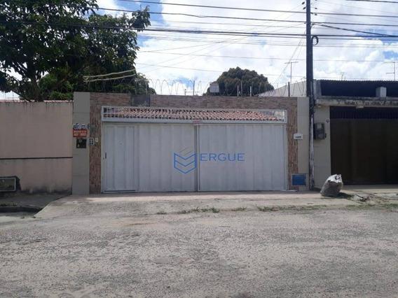 Casa Com 3 Dormitórios À Venda, 175 M² Por R$ 380.000,00 - Maraponga - Fortaleza/ce - Ca0950