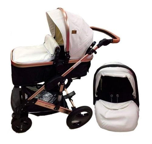Coche Moisés Para Bebesitos Con Silla Para Carro Niños Niñas