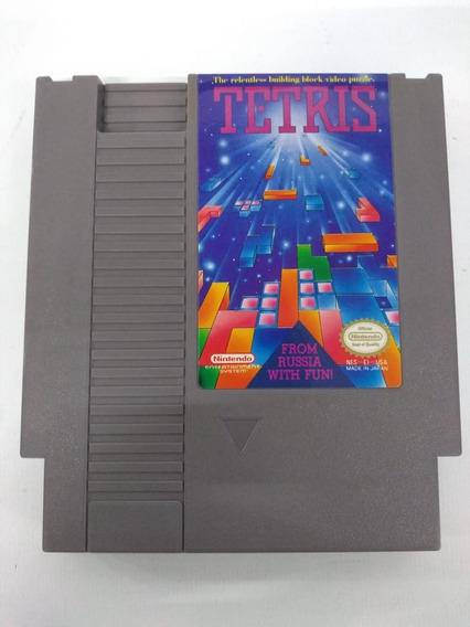 Cartucho Jogo Tetris Original Nes Nintendo 8 Bits Fita Game