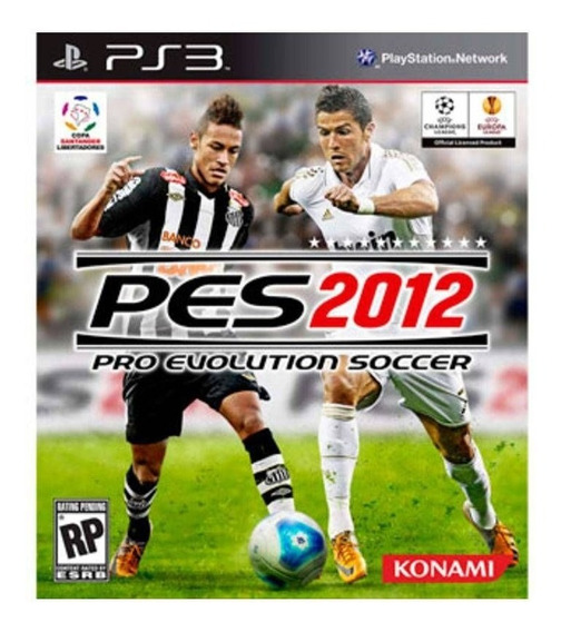 Jogo Pro Evolution Soccer 2012 - Ps3 Mídia Física Usado