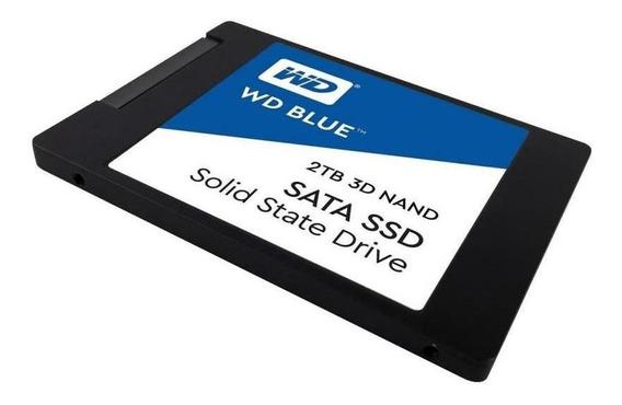 Disco Solido Ssd 2 Tb Western Digital Blue