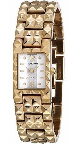 Relógio Feminino Mondaine Dourado Lindíssimo 94741lpmvdm1