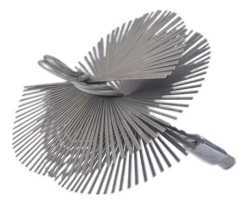 Cepillo Deshollinador De Metal De 135, 150 Y 200 Mm
