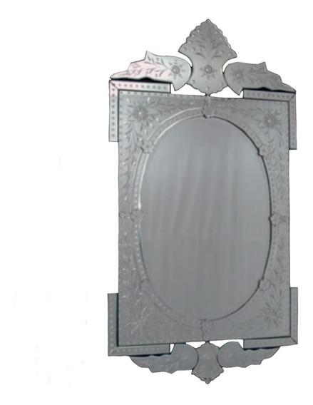 Espelho Veneziano Bisotê Leandro Martins