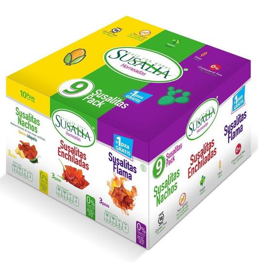 Susalitas Pack 9 + 1 Caja Con 3 Paquetes