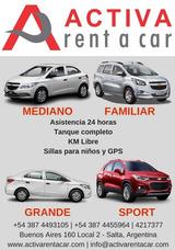 Activa Rent A Car Alquiler De Autos En Salta Mejor Precio