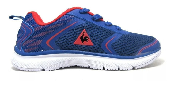Zapatillas Niñoz Le Coq Sportif Tirion Jr Navy Red Running