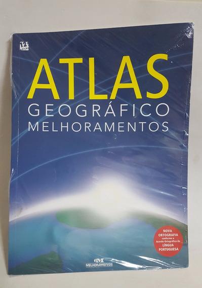 Livro- Atlas Geográfico Melhoramentos Nova Ort - Novo