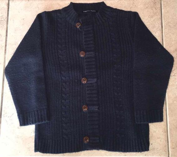 Saco Sweater Cardigan Lana T4 Varón Marca Magdalena Esposito