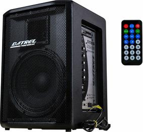 Caixa De Som Ativa Af 10 Bluetooth/usb/sd/fm 200 Rms Potente