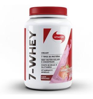 7-whey Creamy 900g Morango Vitafor