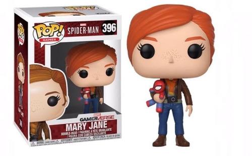 Funko Pop #396 Mary Jane - Spiderman Ps4 Marvel Games
