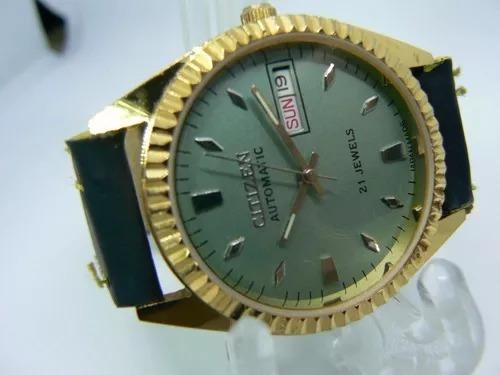 Relógio De Pulso Citizen Automático Japonês, Anos 70