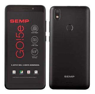 Smartphone Semp Go 5e, Preto 5,5
