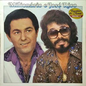 Milionário E José Rico Lp Escravo Do Amor Vol. 11 Chat. 1981