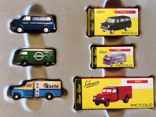 Conjunto Miniaturas Schuco 1/87 Metal - Ñ Carro Caminhão