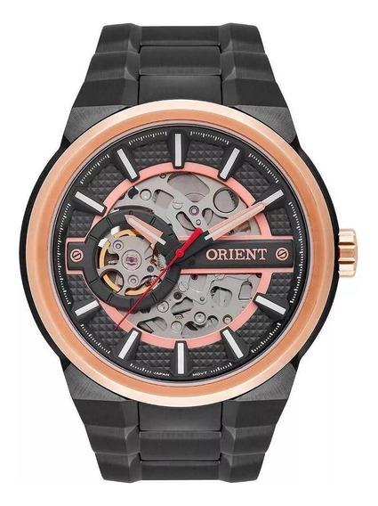 Relógio Orient Automático Masculino Esqueleto Nh7yr001