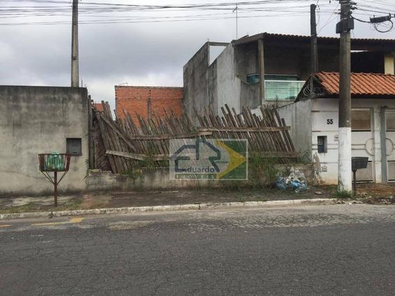 Terreno À Venda, 175 M² Por R$ 145.000,00 - Jardim Quaresmeira - Suzano/sp - Te0041