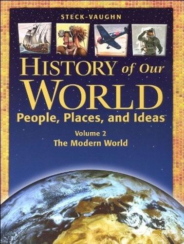 Imagen 1 de 1 de History Of Our World. Vol 2: The Modern World. Steck-vaughn