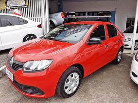 Renault Logan 1.0 Flex 2015 Vermelha