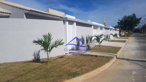Casa Com 2 Dormitórios À Venda, 60 M² Por R$ 285.000,00 - Barroco (itaipuaçu) - Maricá/rj - Ca0779