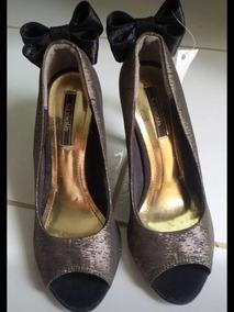 Sapato Crysalis Novo Na Etiqueta Número 36