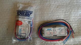 Reator Eletrônico Para 2 Lâmpadas Pl 26w 4 Fios Bivolt