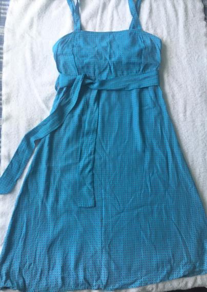 Vestido Dama Popelina De Seda Talla M