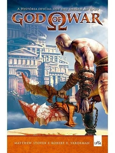 Livro God Of War 1: A História Que Deu Origem Ao Jogo