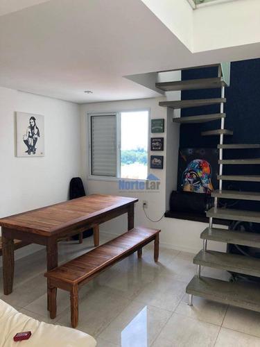 Imagem 1 de 30 de Cobertura Com 2 Dormitórios À Venda, 120 M² Por R$ 800.000,00 - Vila Gomes - São Paulo/sp - Co0044