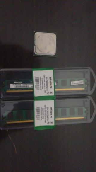 Core2quad Q6600 + 4gb De Ram Ddr2