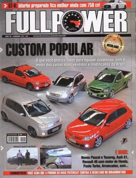 Fullpower Nº110 Montana Saveiro Gol Uno Celta Nissan Gt-r A1
