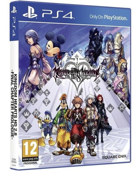 Game Kingdom Hearts Hd 2.8 Ps4 Midia Fisica Lacrado Promoção
