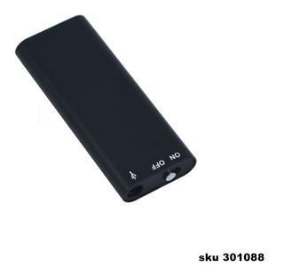 Mini Grabadora Periodista Dictafono Audio 8gb Mp3 Play W01