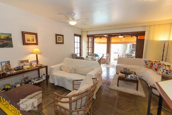 Casa Para Aluguel - Barra Da Tijuca - Marapendi, 4 Quartos, 250 - 892998554