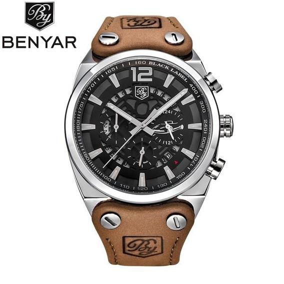 Relógio Sport Inox Benyar By5112 Prova D