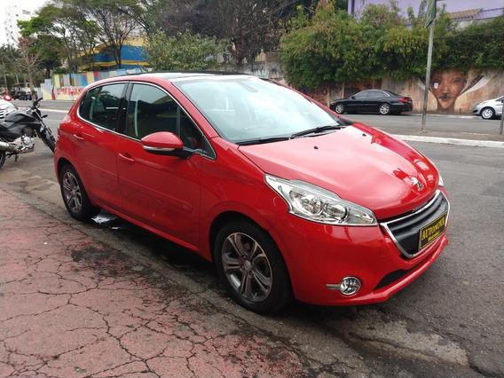 Peugeot 208 Griffe 1.6 Aut Flex 2015 U.dona Bx Km Raridade