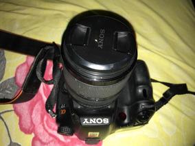 Câmera Sony Alpha A77v+lente Sony 18-135mm 3.5-5.5 Seminovas