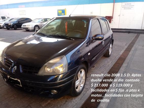 Renault Clio 2008 1.5 Diesel 4 Puertas