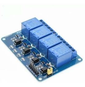 Modulo Relé 4 Canais 5v Para Arduino, Raspberry Pi