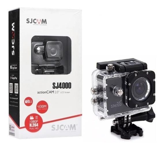 Câmera Filmadora Sjcam Sj4000 Fullhd Prova D Água 1080p Wifi
